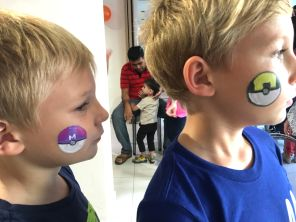 pokeball-face-painting