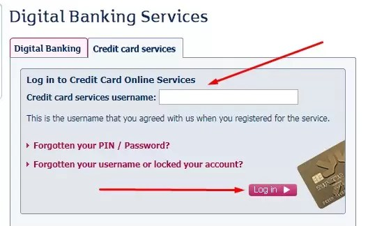 rbs credit card services registration