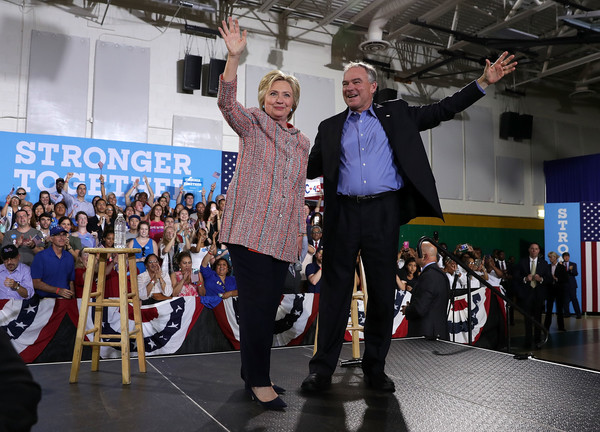 Dem VP Pick Agrees to Wear Pantsuits During Campaign