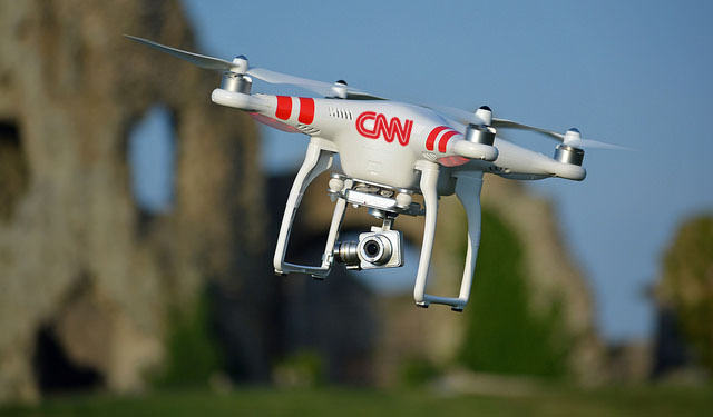 CNN to Fill Skies With Biased Drones