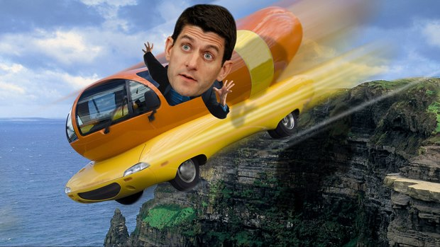 Paul Ryan Even Screws Up Own Family's Drive-Thru Order