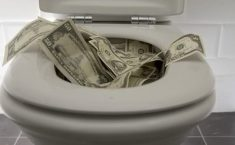 Study: More Efficient for Celebs to Flush Cash Than Donate to Democrats