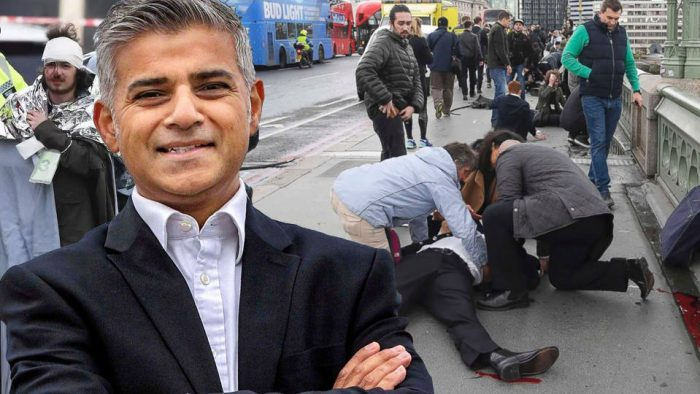 "London Mayor Khan: ""Come for the Landmarks, Stay for the Terror"""
