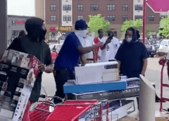 Minneapolis Rioters: We're Just Picking Up Our Looter Layaway Merchandise