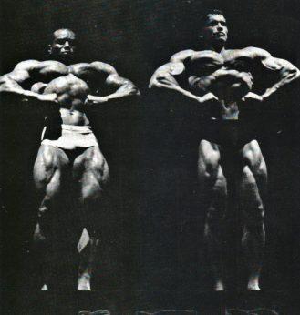 Sergio vs. Arnold lat spreads