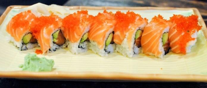 double salmon rolls