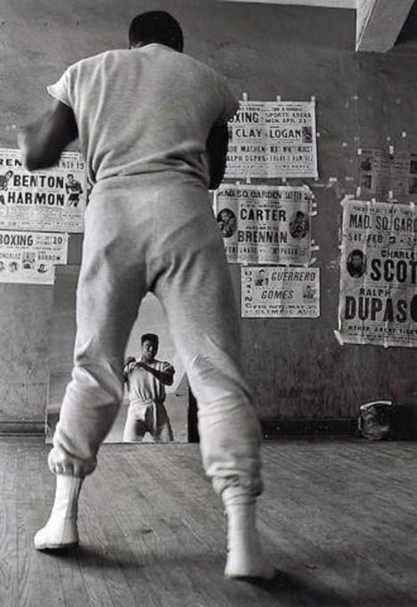 Ali shadow boxing 1961