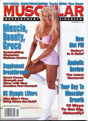 Melissa Coates Muscular Development magazine