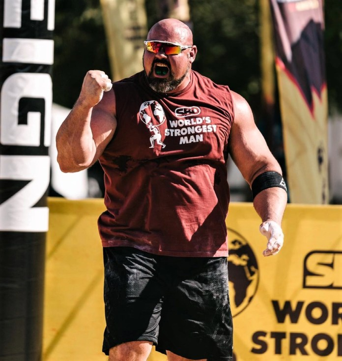 Brian Shaw 2021 World's Strongest Man