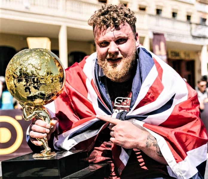Tom Stoltman 2021 World's Strongest  Man