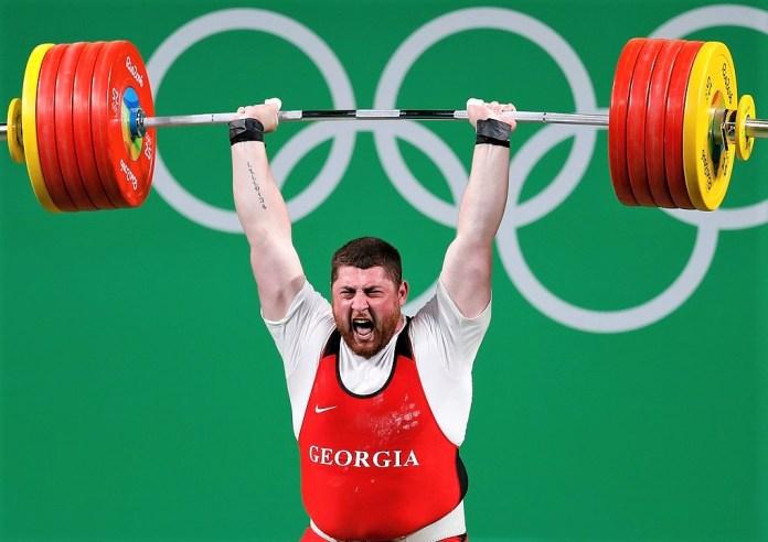 Lasha Talakhadze 2020 Olympics weightlifting