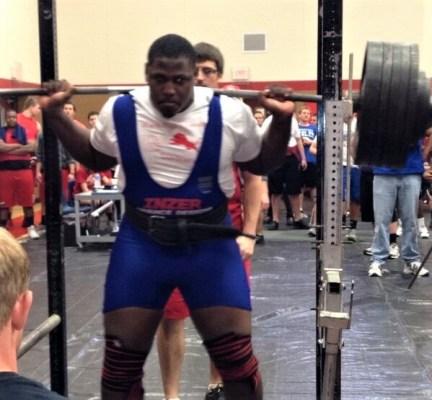 Andrew Billings squat