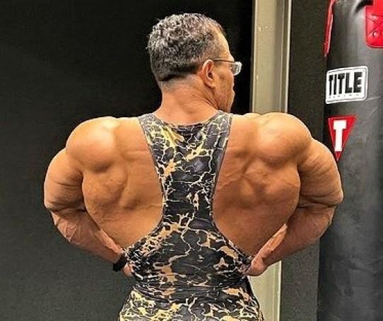 Hassan Mostafa before 2021 Olympia