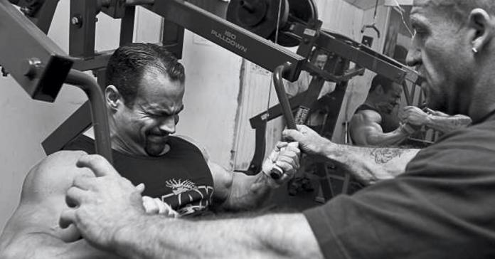 Mark Dugdale training