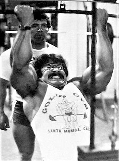 Mike Mentzer training