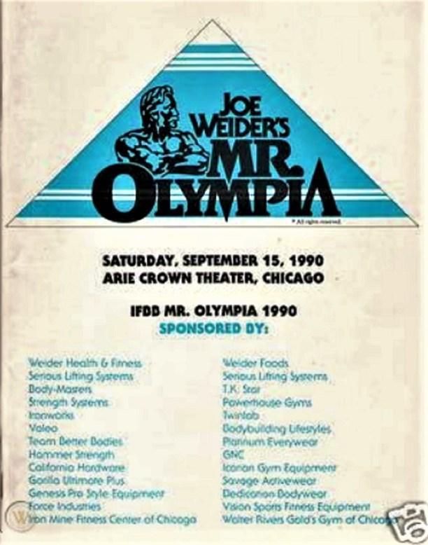 1990 Mr. Olympia