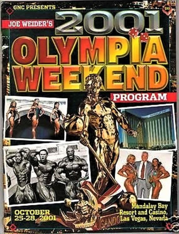 2001 Olympia