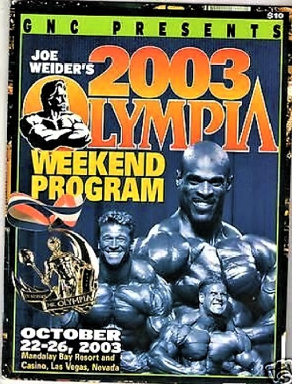 2003 Olympia