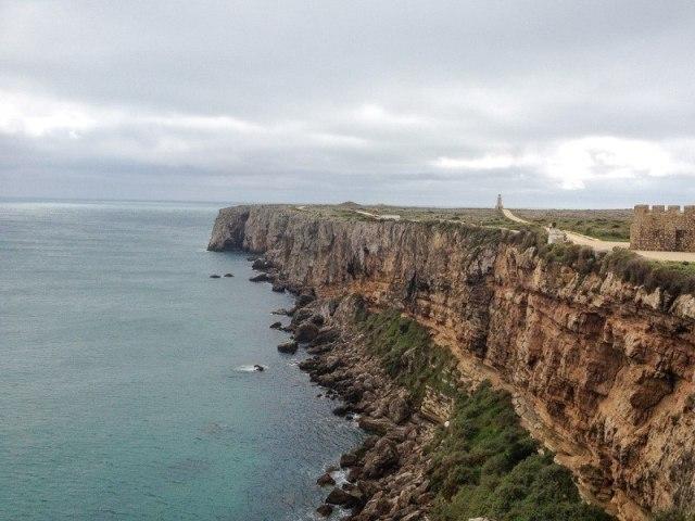 Cliffs at Sagres Point