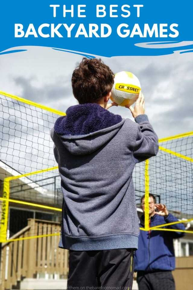 the best backyard games for families