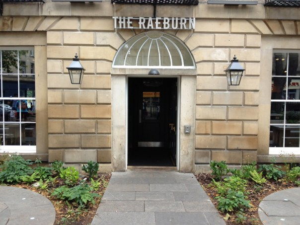 Built in the 1830s, the Raeburn in Stockbridge is an impressive building