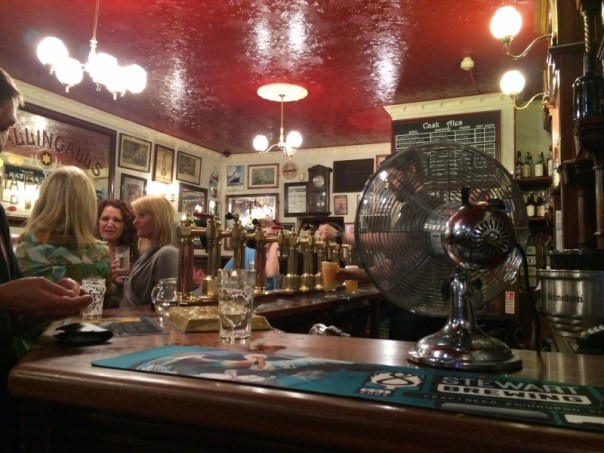 The Bow Bar has a simple layout and a great beer selection