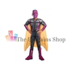 Kids Marvel Avengers Vision Costume in Small
