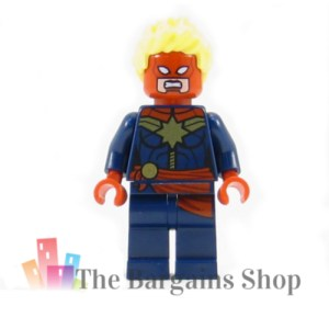 Block Minifigure Captain Marvel