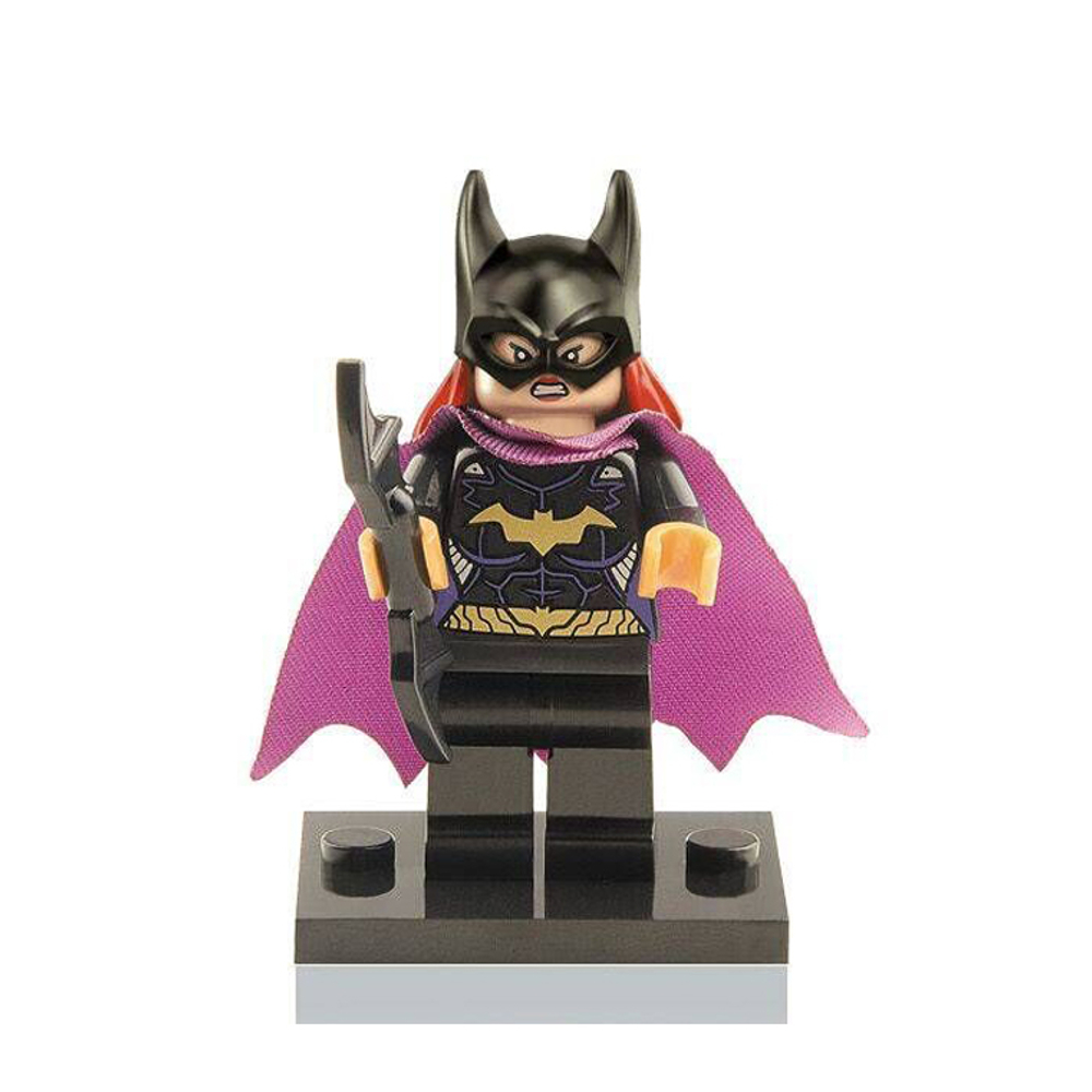 Block Minifigure Batgirl