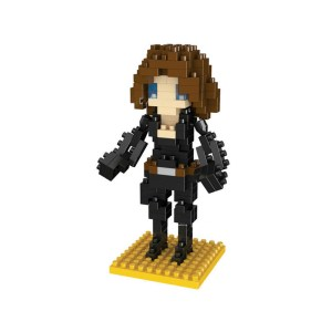 Micro Blocks Superheroes Black Widow