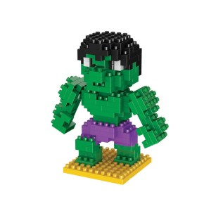 Micro Blocks Superheroes Hulk