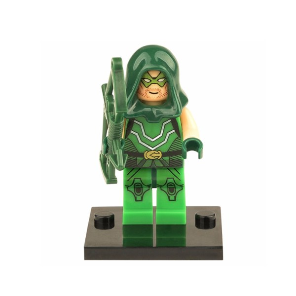 Block Minifigure Green Arrow