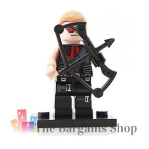 Block Minifigure Hawkeye