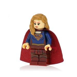 Block Minifigure Supergirl