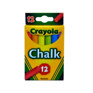 Crayola 12 Coloured Chalks