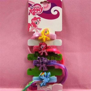 My Little Pony Fuzzy Bands