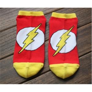 DC Comics Trainer Socks Flash