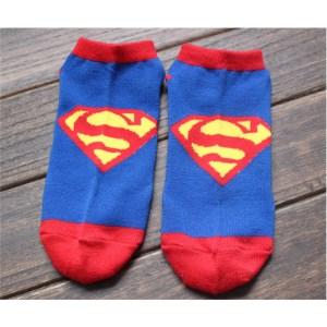 DC Comics Trainer Socks Superman