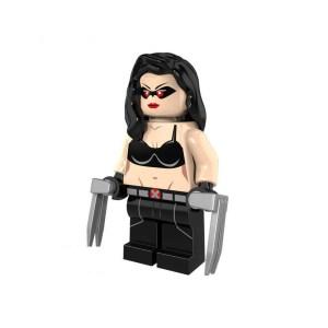 Block Minifigure Wolverine X-23