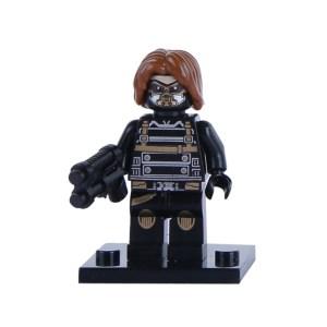 Block Minifigure Winter Soldier