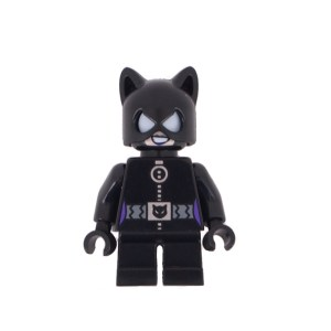 Block Minifigure Catwoman Small Legs