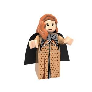 Block Minifigure Sansa Stark