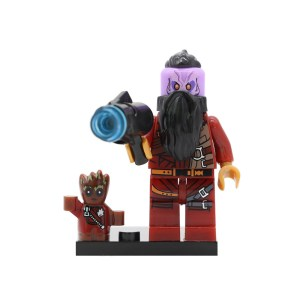 Block Minifigure Taserface