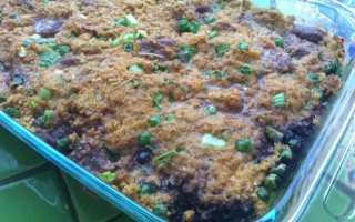 Blueberry Beef Casserole