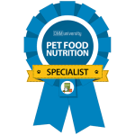 Pet Nutrition Specialist Badge
