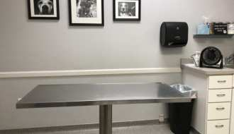 vet exam room photo