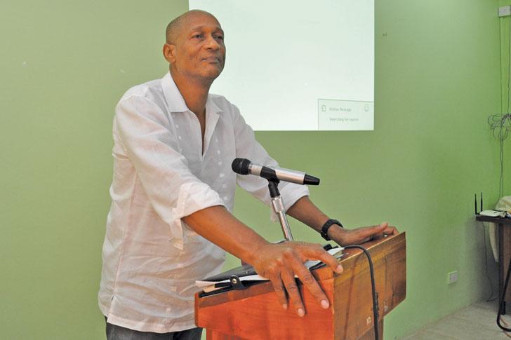 Grenadian Economist Aaron Moses