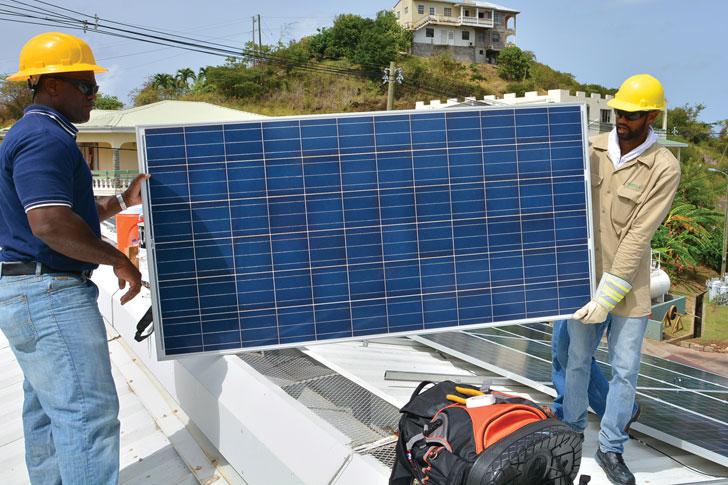 grenlec-solar-installation