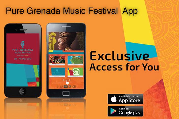 The Pure Grenada Music Festival App