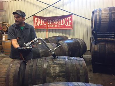 Barrel Aging for Breckenridge Brewery's 25th Anniversary Ale